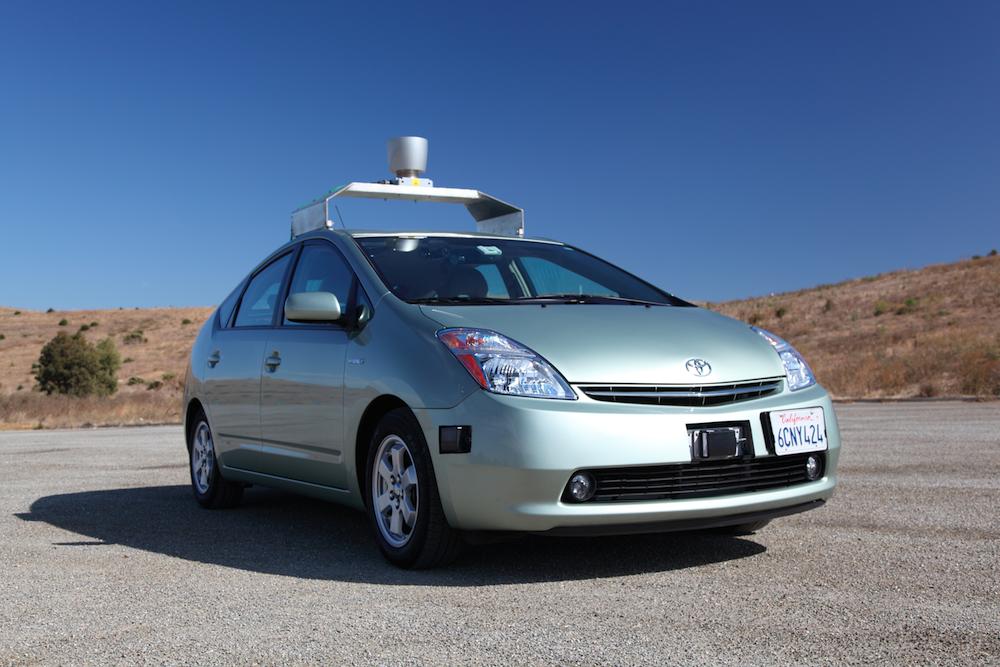 Driverless prius